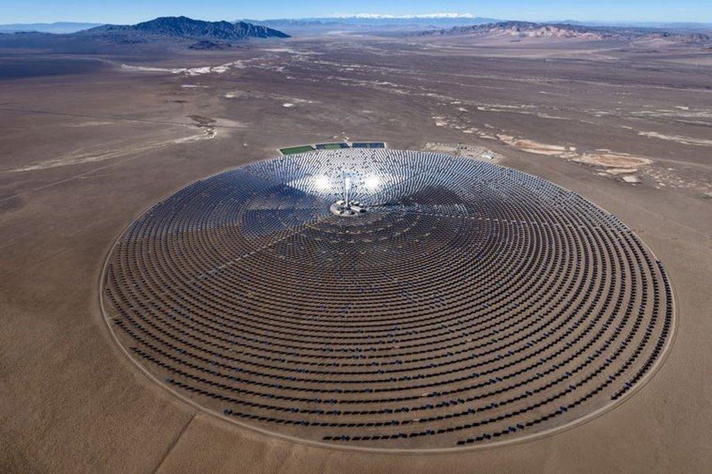 Самая крупная солнечная станция может появиться в США