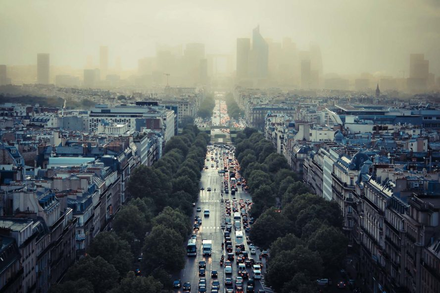 Лондон и Париж вводят новую систему мониторинга выбросов транспортных средств