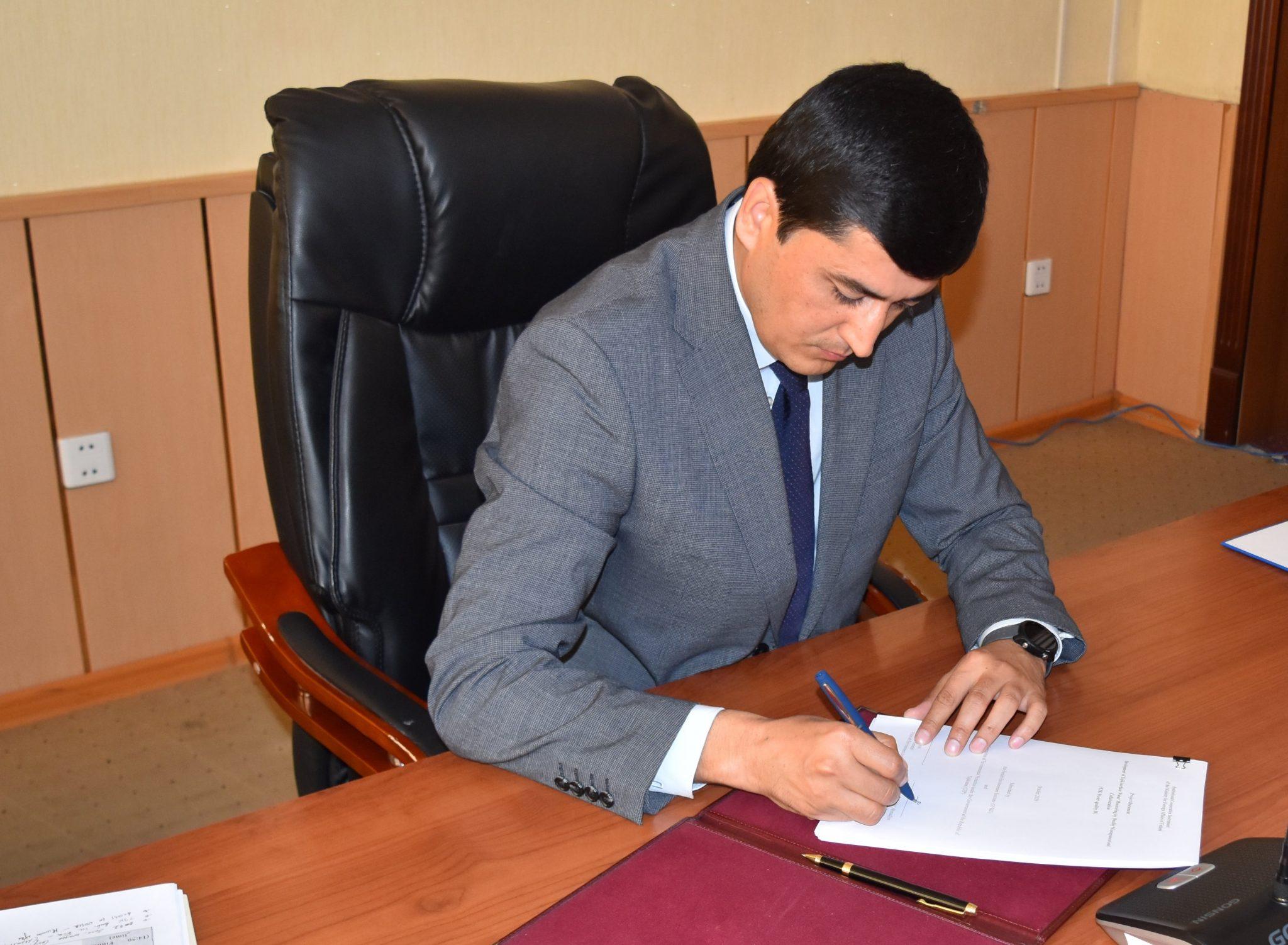 Председатель Комитета по охране окружающей среды при Правительстве РТ Шерализода Б.А